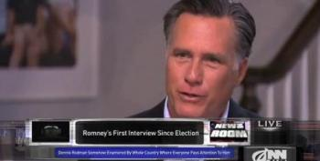 Romney Blames Loss On Successfully Communicating His Message To Minorities