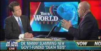 Neil Cavuto And Fox Crackpot Physician Resuscitate 'Death Panel' Myth