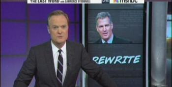Lawrence O'Donnell Rewrites Scott Brown's Political Future