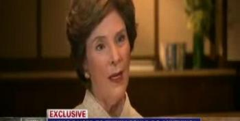 Laura Bush: 'We Have Room' For Republicans Who 'Frightened' Women With Rape Talk