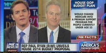 Fox' Hemmer Shouts Down Rep. Van Hollen While Reading From Ryan's Op-Ed