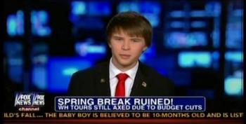 Fox's 'Disappointed' WH Tourist Is Really A Republican Activist