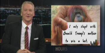 Maher Not Done Making Orangutan Jokes About Trump