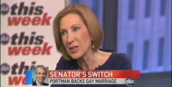 Carly Fiorina: Gay Marriage Issue Should Be Decided By The Voters