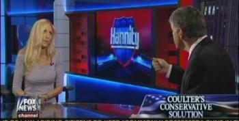Coulter Argues With Hannity Over GOP Decision Not To Shut Down The Government