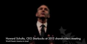 Starbucks' CEO Defends Same-Sex Marriage Stance Against The Haters