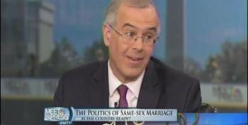 Brooks Is Worried SCOTUS Will 'Overreach' On Gay Marriage And 'Polarize The Debate'
