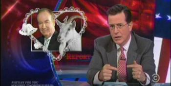 Colbert Lampoons Bill O'Reilly For Flip-Flop On Gay Marriage