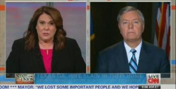 Sen. Lindsey Graham Shouts Down CNN Host Over Keeping Private Gun Transfers Secret