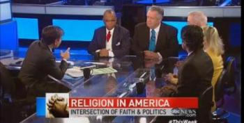 Baptist Pastor Tells ABC: Same Sex Marriage Is 'The Freedom God Has Given You'