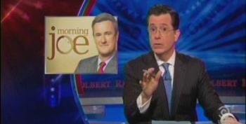 Colbert Lays Into Morning Joe Crew For Mark Sanford 'Infomercial'