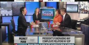 Chuck Todd Asks If President's Fundraising Is Responsible For Continued GOP Obstruction