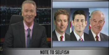 Bill Maher Slams Current Crop Of Ayn Rand Worshiping Libertarians