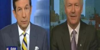 NRA's Hutchinson Bucks LaPierre: Background Checks At Gun Shows 'Would Seem Appropriate'