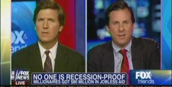 Fox's Carlson And Tamny Push To Dismantle Unemployment Insurance
