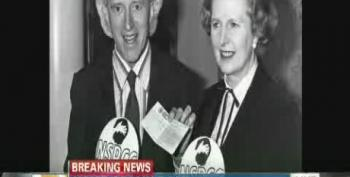 Conservatives Outraged Over CNN Photo Of Thatcher With 'Pedophile' Jimmy Savile