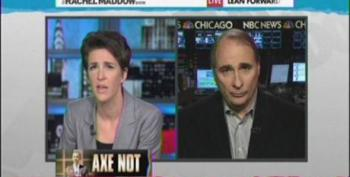 Maddow Calls Out Axelrod For Support Of President's Social Security Cuts