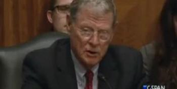 Climate Denier Sen. James Inhofe In Line For The Senate Environment And Public Works Committee