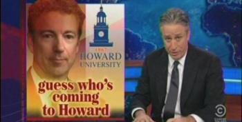Jon Stewart Skewers Rand Paul For His Failed Minority Outreach At Howard University