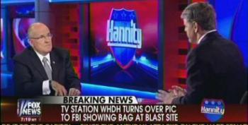 Giuliani: 'My Hunch' Is That Boston Bombing 'Was Homegrown'