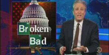 Stewart Slams 'Broken Bad' Senate For Failure To Pass Gun Regulation