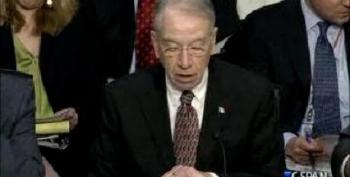 Grassley: Immigration Reform Could Make Terrorists 'Eligible For Benefits'
