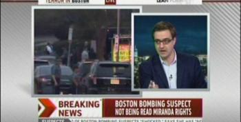 Cressey: Bombing Suspect Not Mirandized Yet, But Will Be