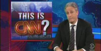 Jon Stewart Takes Another Shot At CNN For Reporting On Boston Bombing