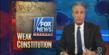 Jon Stewart Slams Fox For Wanting To Shred Our Bill Of Rights
