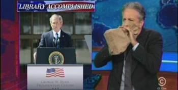 Stewart: Bush Library The 'Hard Rock Cafe Of Catastrophic Policy Decisions'