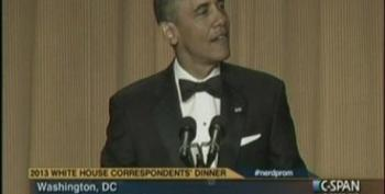 President Obama At The 2014 White House Correspondents Dinner Part 2