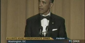 President Obama At The 2014 White House Correspondents Dinner Part 3