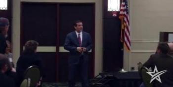 Ted Cruz Trashes Fellow Senators To Texas FreedomWorks Members