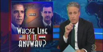 Jon Stewart Takes Apart GOP Warmongers On Syria