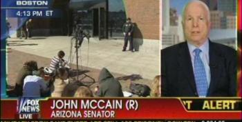 McCain Calls For Select Committee To Investigate GOP Benghazi Witch Hunt
