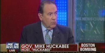 Huckabee Is Very Sad That We're Not Demonizing Muslims