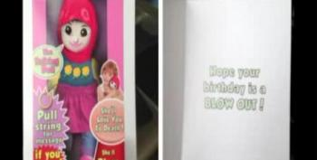 Greeting Card Poses Muslim Doll As Suicide Bomber