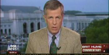 Brit Hume Conflates Bush Lying About Saddam And Yellow Cake With Fake Benghazi Non-Scandal