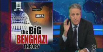 Stewart Tears Into The 'Denizens Of Bullsh*t Mountain' For Benghazi Fearmongering