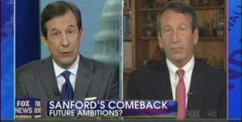 Wallace Asks Sanford If His Political Comeback Includes 'Possibility Of Higher Office'
