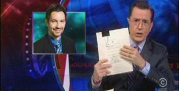 Stephen Colbert Takes On Heritage Foundation's Racist Immigration Study