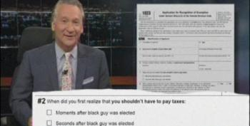 Maher Reads From 'Outrageous' IRS Forms Sent To Tea Partiers