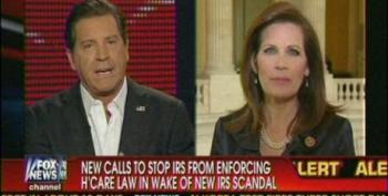Bachmann Pushes Lie That IRS Will Kill People As 'Enforcer Of Obamacare'