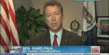 Rand Paul Continues Attacks On Clinton Over Benghazi