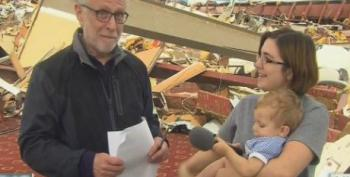 Wolf Blitzer Asks Atheist Mom If She Thanked The Lord