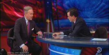 Colbert Slams Tea Party For Whining About Tax-Exempt Status
