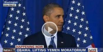 Code Pink Interrupts Obama's Speech