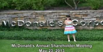 McDonald's CEO Scolded By 9-Year-Old Girl For Selling Junk Food