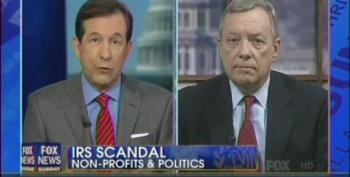 Chris Wallace Badgers Dick Durbin About Going After Rove's Super PAC