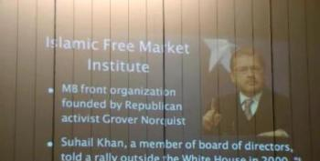 Tea Party Speaker Presents Proof Grover Norquist Is A Secret Muslim: 'He Has A Beard'